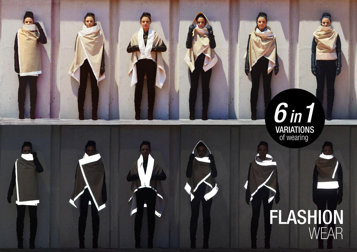 UNISEX Atstarojoša Kamoflāž jaka - seši vienā