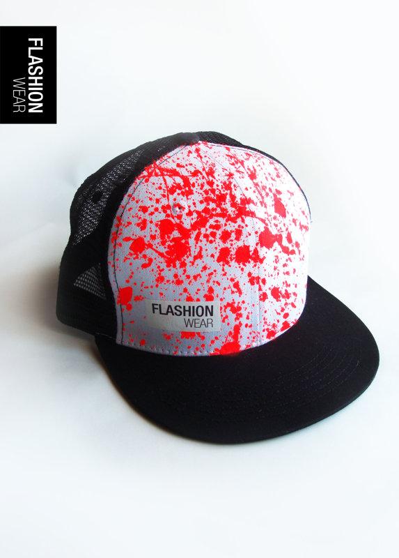 Fluo Sarkana Cepure