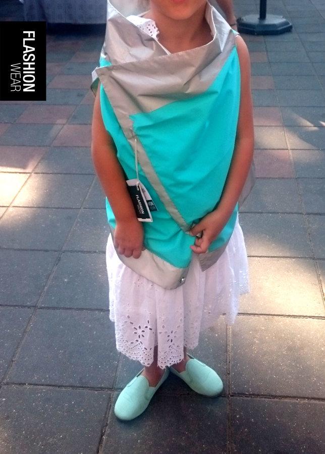 UNISEX Bērnu atstarojošā veste - Mint
