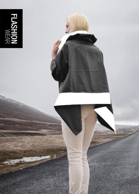 Rain Jacket - Black (6in1)