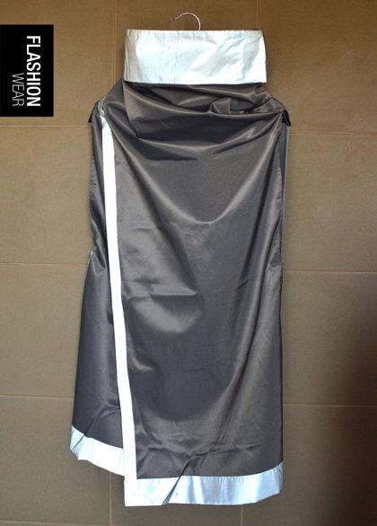 UNISEX Pelēka ūdens atgrūdoša atstarojošā veste - seši vienā
