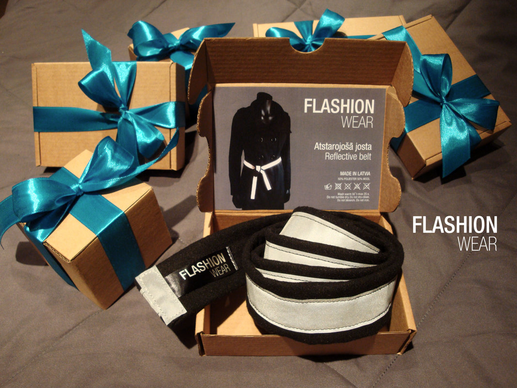 FLASHION wear reflective belt