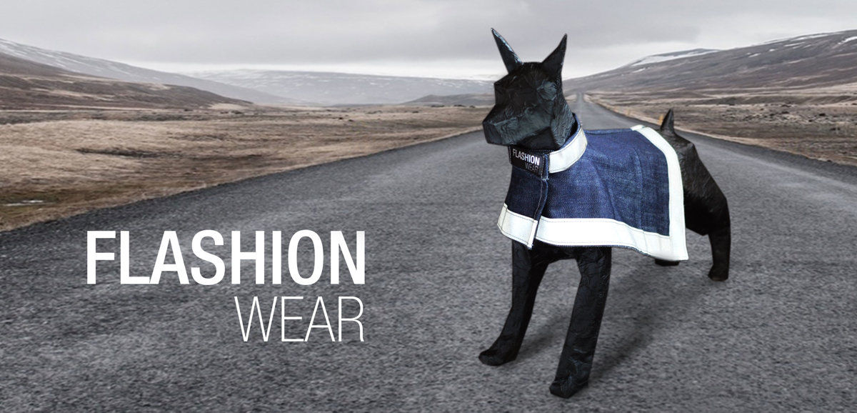 Reflective vests, coats and jackets for dog