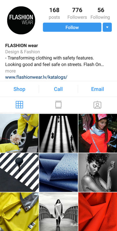 Flashion wear instagram
