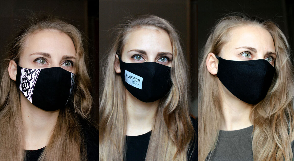 Reflective Covid Face Mask